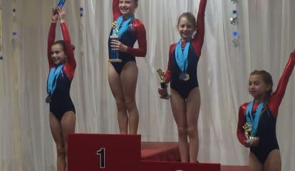 Darien YMCA Gymnasts Win Blizzard Of Titles At Snowflake Invitational