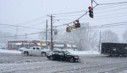 Snow Blankets Fairfield Friday