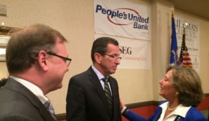 No Magic Wand For Budget Woes, Malloy Tells Bridgeport Area Biz Leaders