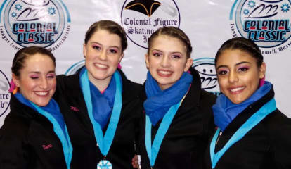 Skaters From Darien Help Shadows Win Silver Medal At Sectionals