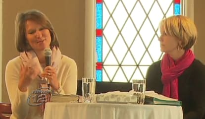 Mothers Of Sandy Hook Victims Talk About Faith At Brewster Church