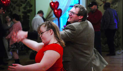 Greenwich Ballroom Holds Second Annual Sweetheart Ball For Abilis