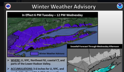 Steady Snow Will Return To Mount Kisco, New Advisory Issued