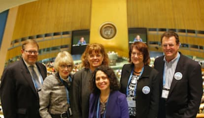 Stamford Jewish Federation Leaders Discuss Issues at United Nations