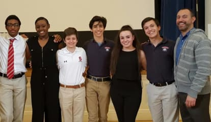 Stepinac Pays Tribute To Good Counsel Academy In 'Sister Act' Performace