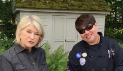 Mount Kisco Restaurateur Joins Martha Stewart For July 4th Grilling Video