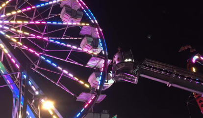 Stratford Firefighters Rescue Kids Stuck On Ferris Wheel At Carnival