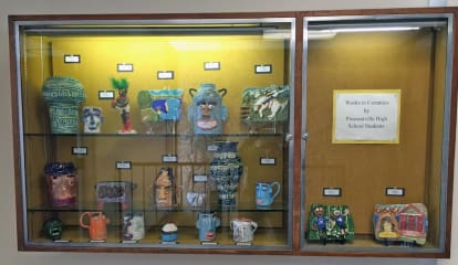 See Pleasantville High Ceramics Exhibit At Mount Pleasant Library