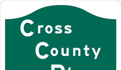 Car Overturns On Cross County Parkway