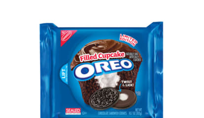 Oreo Debuts New Cookie That Tastes Like A Cupcake