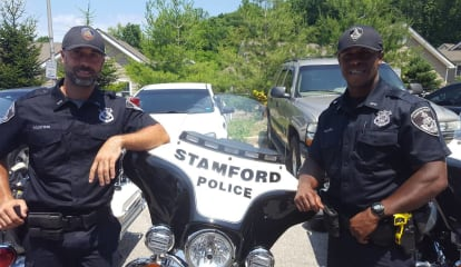Two Complete Training, Join Stamford Police Motorcycle Unit