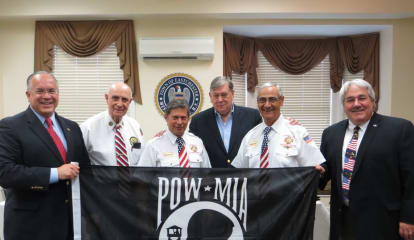 Eastchester Residents Donate POW-MIA Flags To Fly Over Town Hall