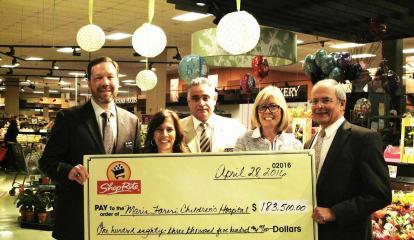 New Rochelle ShopRite Donates $183,500 To Maria Fareri Children's Hospital
