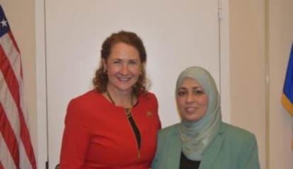 Esty Joined At National Prayer Breakfast By Islamic Leader From Newtown