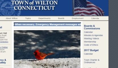 Wilton Updates The Town's Website