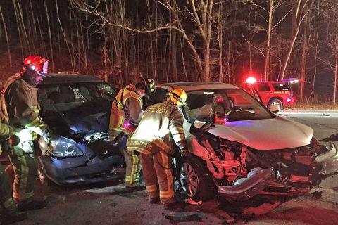 Three-Car Crash Injures Three In Brewster