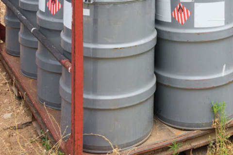 Barrels Of Possibly Dangerous Chemicals Found Dumped In Mount Vernon