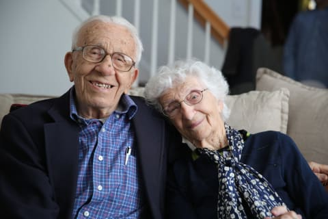 Fairfield Couple Married For 83 Years Tweet Tips For Happy Unions