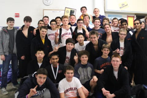 Greeley Boys Swimming, Diving Team Wins Conference Championship