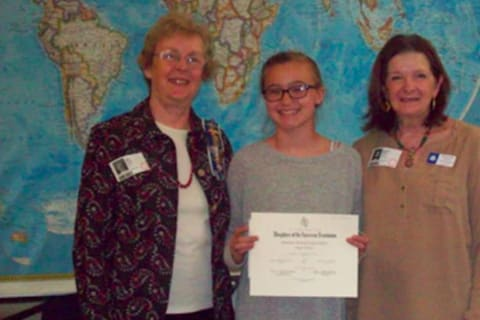 New Canaan Sixth-Grader Earns First Place In American History Essay Contest