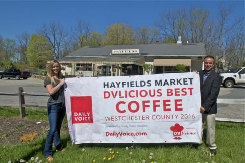 Hayfields Market Earns DVLicious Best Coffee In Westchester Honors