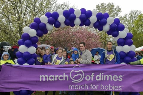 Fairfield Braves Rain To Support March Of Dimes March For Babies