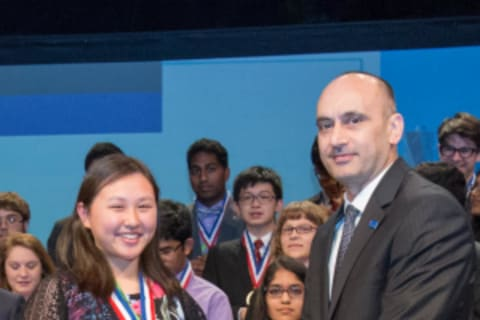 Yorktown Student Takes Top Prize At International Science Fair