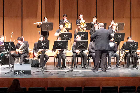Harrison High Jazz Ensemble Performs At Essentially Ellington Festival