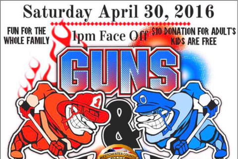 Westchester Police, Firefighters Will Meet In Guns & Hoses Hockey Game