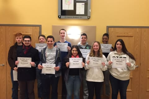 Fifteen Irvington High School Students Receive Awards For Leadership