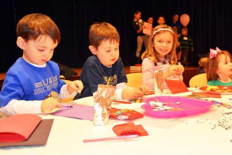 Kids Take Part In Bronxville Junior League Annual Meeting