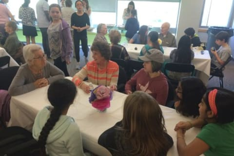 Chappaqua Students Treat Seniors To Lunch, Music