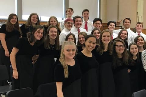 Pelham High Chorus Excels At State Music Association Majors Festival