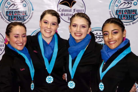 Skaters From New Canaan Help Shadows Win Silver Medal At Sectionals