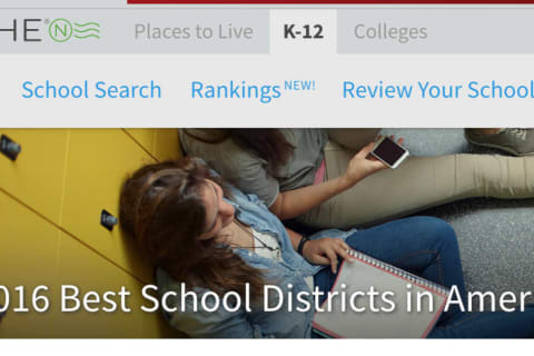 Pleasantville School District Ranks High Among State's Best