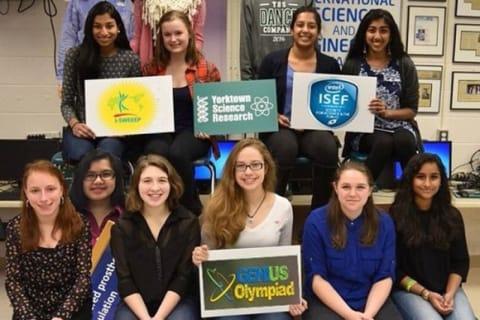 Yorktown Schools Celebrate Banner Year For Student Scientists
