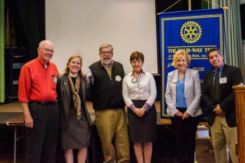 Fairfield Rotary Welcomes 2 New Members