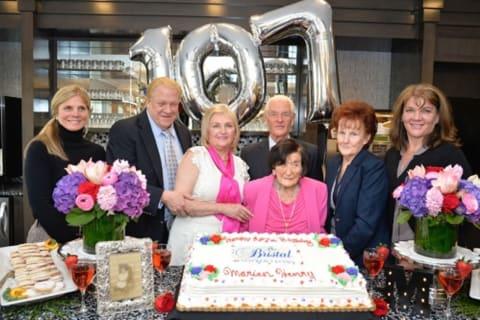 Armonk Resident Celebrates 107th Birthday With Flowers, Cake