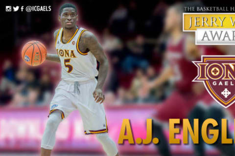 Iona College Shooting Guard A.J. English Nominated For National Honor
