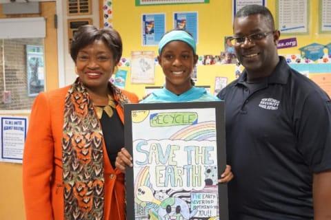 New Rochelle Student Wins State Senate's 35th District Earth Day Contest