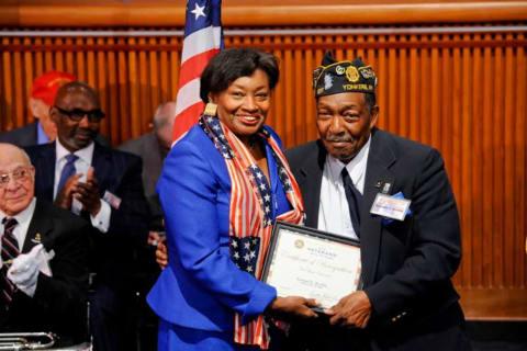 Yonkers Veteran Enters State Senate Hall of Fame