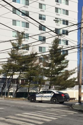 Police Sweeping Stamford High After Bomb Threat Forced An Evacuation