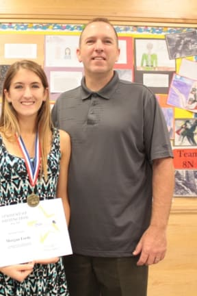 Yorktown's Morgan Forde Named BOCES Student Of Distinction For June