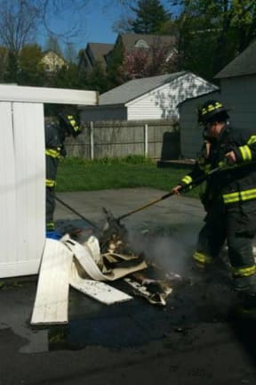 Greenwich Firefighters Keep Busy Dousing Small Blazes