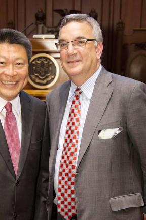 Weston/Westport Sen. Hwang Invites St. Vincent's Medical Center To Capitol