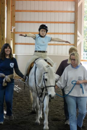STAR Partners With Mounted Troop To Help Wilton Residents With Disabilities