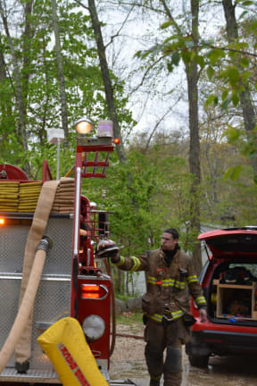 Somers FD Assists With Goldens Bridge House Blaze