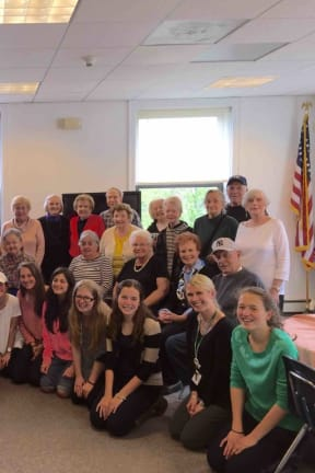 Irvington High Students Share Tea With Local Older Adults