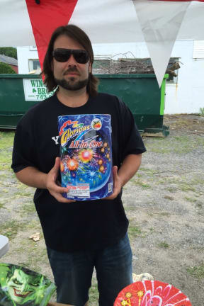 Stamford Business Makes Fourth of July Pop With Fireworks Stand