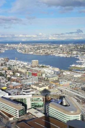 Ossining Resident, Daily Voice Community Advisor Travels To Seattle